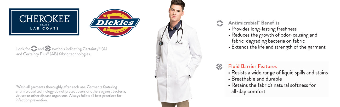 3/4th Sleeve Lab Coats